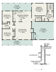 small ranch house floor plans 1492 sf could be rotated 90 degrees to place garage in back and