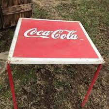 coca cola table and chairs best vintage coca cola table 4 chairs reduced for sale in