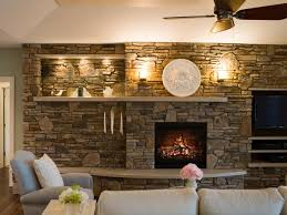 Best Awesome Fireplace Designs Images On Pinterest - Living room with fireplace design