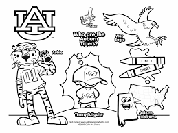 coloring page tigers auburn tigers coloring pages best of football 11623 atomicrocket co