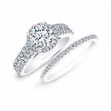 wedding band set k diamond 14k white gold engagement ring setting and wedding band set