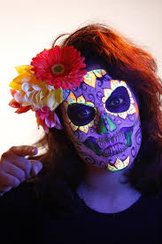 sugar skull halloween makeup video tutorial u2013 halloweenmakeup com