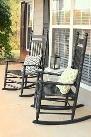 Patio Furniture Rocking Chair A Rocking Chair Front Porch
