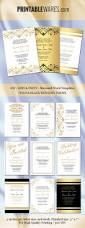 wedding place card template microsoft word 790 best wedding templates images on pinterest wedding templates gold black wedding invitation templates