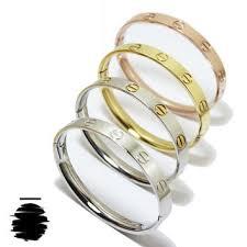 stainless steel cartier bracelet images Cartier inspired replica love bracelet from gvto876 on etsy jpg