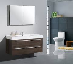 Modern White Bathroom Vanity Classy Small Bathroom Design Idea With Gray Bathroom Vanity Top