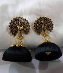 thread earrings silk thread earrings designs android apps on play
