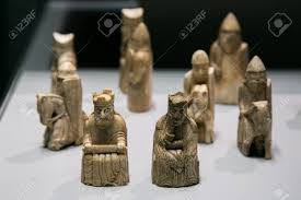 ancient chess ancient chess made from walrus ivory and whale tooth medieval