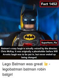 Batgirl Meme - fact 1452 superhero fix batman s crazy laugh is actually voiced by
