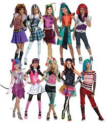Monster High Halloween Pictures by Monster High Girls Fancy Dress Halloween Kids Childrens