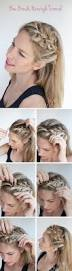 Easy Hairstyles Medium Long Hair by Craftionary