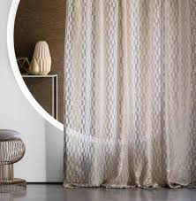 Patterned Sheer Curtains Patterned Sheer Curtain Fabric Residential Molitor Suzanne