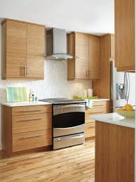 Bamboo Cabinets Kitchen The Clean Lines And Modern Look Of Kitchen Craft S Summit