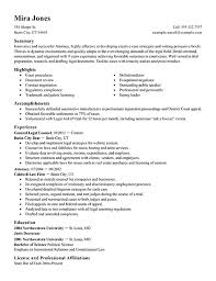 Resume Template For Lawyers Resume General Counsel Resume Exle Counsel Resume