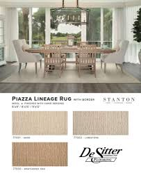 Rug On Laminate Floor Stanton Piazza Lineage Rug Desitter Flooring