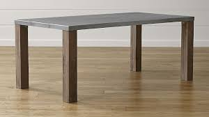 galvin dining table crate and barrel