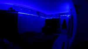 led lights for dorm college dorm led strips youtube