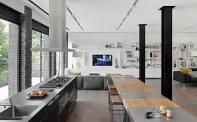 salon cuisine ouverte cuisine ouverte sur sejour salon maison design bahbe com