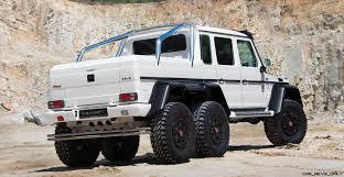 mercedes jeep 6 wheels 2017 mansory gronos 6x6 g wagen