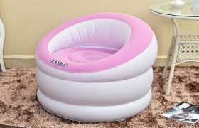 One Person Sofa by Cylinder Flocking Pvc Inflatable Lazy Sofa Home Furniture Single