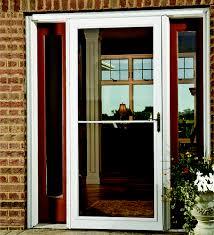 menards glass door larson prairieview screen away full storm and screen door at menards