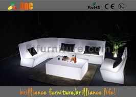 led light sofa light furniture sofa set for
