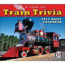 Thomas The Train Desk A Year Of Train Trivia 2017 Boxed Daily Calendar B U0026o Railroad
