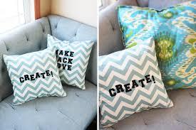 Home Made Decoration Diy Chevron Letter Pillow U2013 Easy Kid Craft U0026 Homemade Decoration
