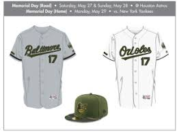mlb orioles unveil special event uniforms for 2017 season cbs