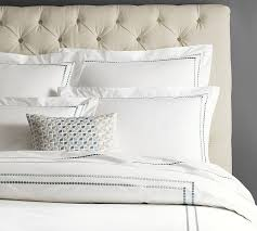 Pillow Duvet Pearl Embroidered 280 Thread Count Duvet Cover U0026 Sham Pottery Barn