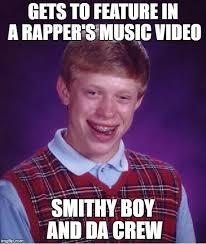 Music Video Meme - bad luck brian meme imgflip