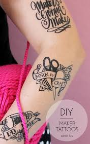 diy maker tattoos persia lou