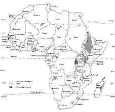 Map Of Sub Saharan Africa 1 Background