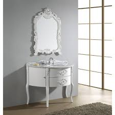 bathroom white bathroom vanity 30 with marble top and artistic
