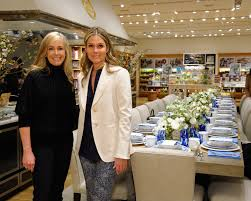 William Sonoma Home by Aerin Lauder And Williams Sonoma Home Host An Elegant Breakfast In