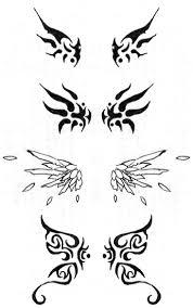 zodiac designs design tribal butterfly wings tattoos