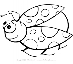 coloring pages kids ladybug pictures color