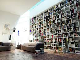 Buy Bookshelves by Modern And Luxury Home Living Room With Spacious Book Shelves Also