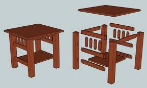 mission style end tables mission style end tables incredible critique my first design table