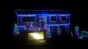 christmas light show ct spectacular christmas light show in waterbury ct youtube