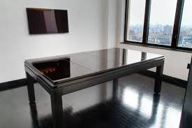 Pool Table Dining Room Table by Modern Tribeca Dining Pool Table Shuffleboard Foosball Collection