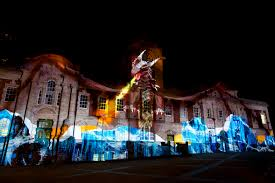 Christmas Light Projectors by 3d Video Mapping Outdoor U0026 Building Projection Large Format