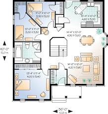 brick house plans with photos economical three bedroom brick house plan 21270dr architectural
