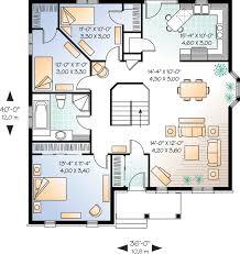 brick home floor plans economical three bedroom brick house plan 21270dr architectural