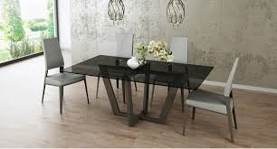 tinted glass table top elite chelsea 74 rec table 395rec ambiente