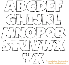 huge alphabet letters printable giant printable letters printable pages