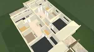 2d duplex floor plans converted to 3d using plan3d com youtube