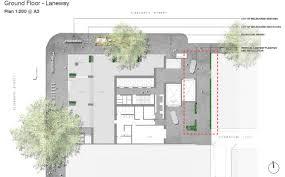 Floor Plan Application Planning Application U003e 398 Elizabeth Street Urban Melbourne