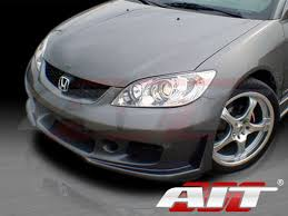 style front bumper cover for honda civic 2004 2005