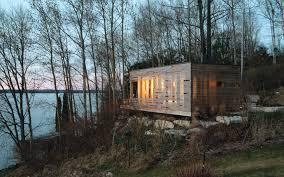 sunset cabin lake simcoe ontario canada adventure journal